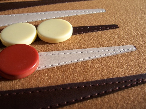 Game of backgammon