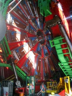 Construction of LHC at CERN