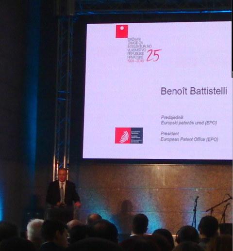 Battistelli at SIPO