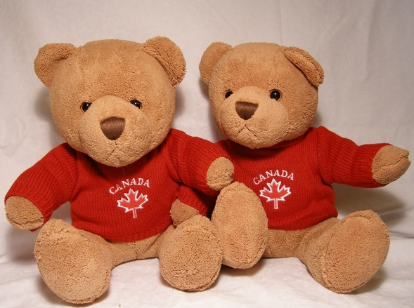 Canadian teddy bears