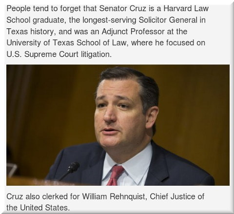 Cruz for Supreme Court