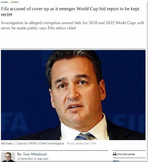 FIFA coverup