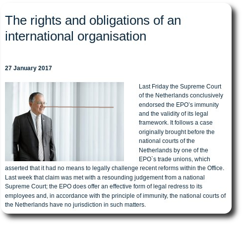 SCREENSHOT of 'The rights and obligations of an international organisation'