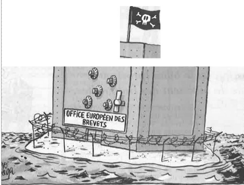 French EPO cartoon