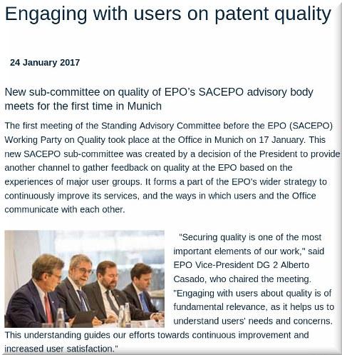EPO's patent quality hogwash