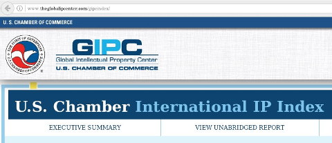 The US Chamber of Commerce International IP Index