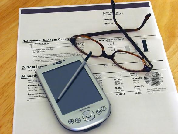 A business PDA