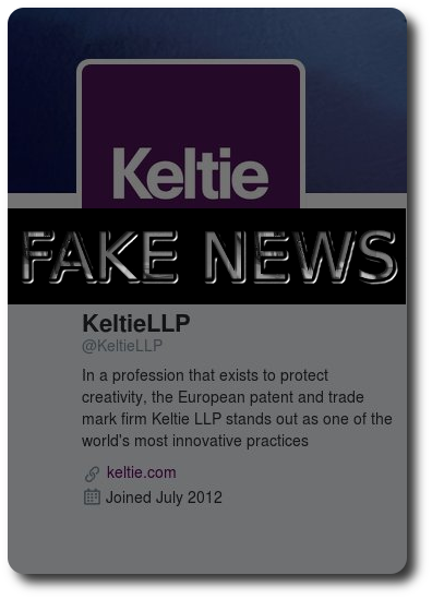 Keltie Fake News