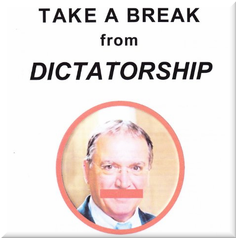 Take a Break from Dictatorship - Go to the Demo