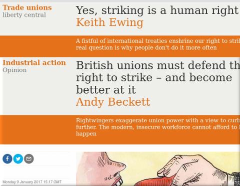 British unions must defend their right to strike – and become better at it