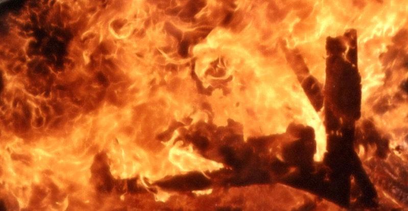 A fiery texture