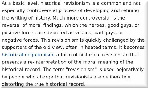 Historical revisionism