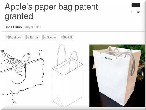 A paper bag patent