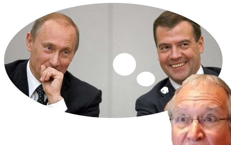 Battistelli and Putin-Medvedev double act