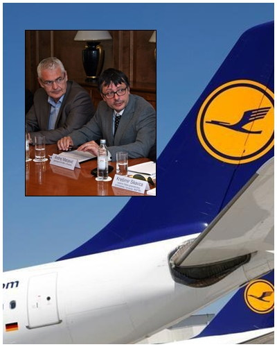 A. Matijevic and Topic by Lufthansa