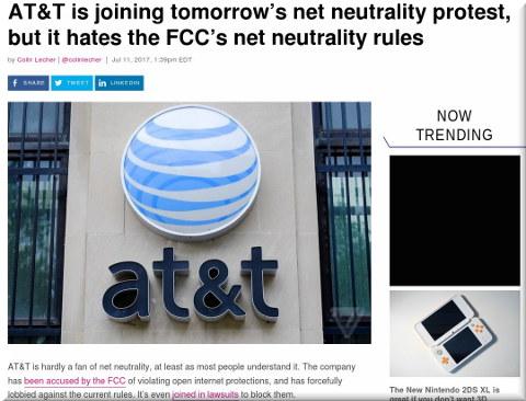 AT&T loves net neutrality