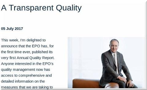 A Transparent Quality