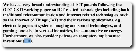 Software patents named