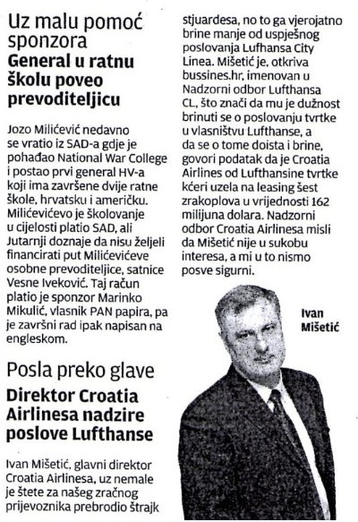 Lufthansa article