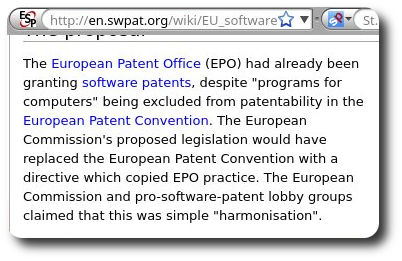 EU software patents directive