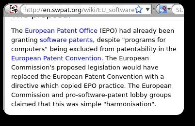 EU software patents directive
