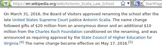 Antonin Scalia Law School
