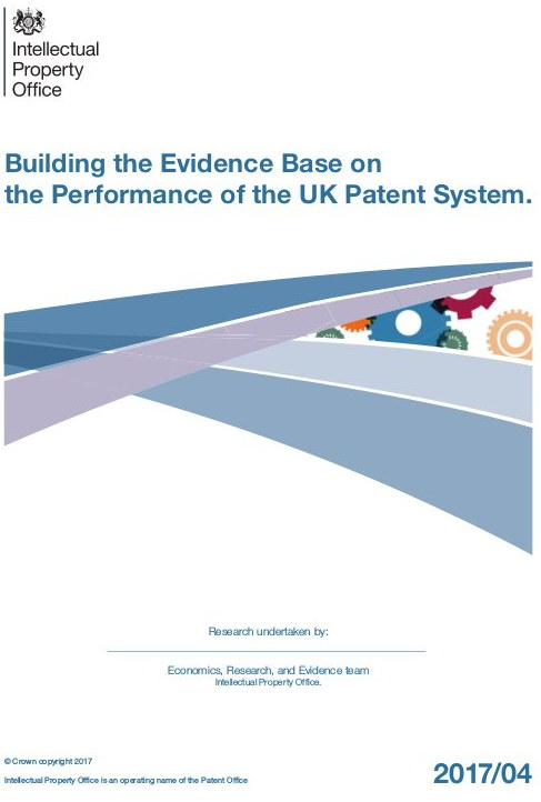 Building the Evidence Base on the Performance of the UK Patent System