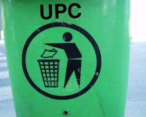 UPC in bin