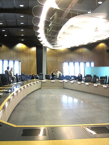 European Commission room