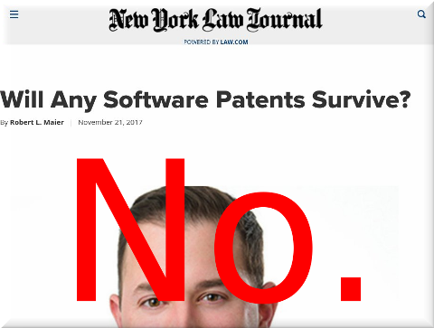 Will Any Software Patents Survive?