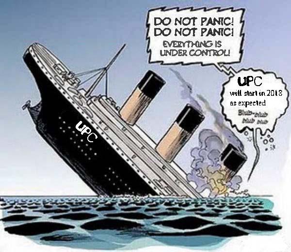 UPC boat sinks