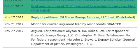 Oil States Energy Services, LLC v. Greene's Energy Group, LLC