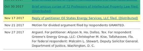 Oil States Energy Services, LLC v. Greene's Energy Group, LLC