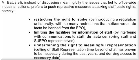EPO basic rights