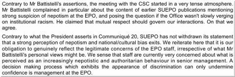 EPO institutional racism