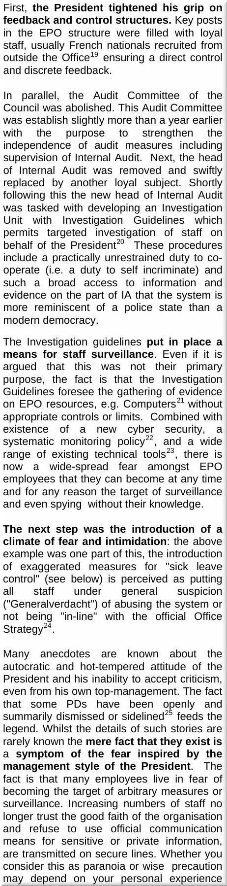 EPO repression