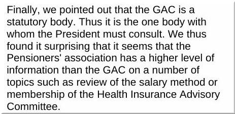 GAC information