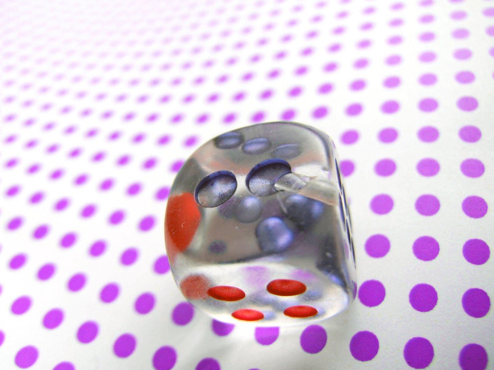 Some gambling dice