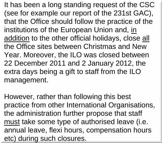 No vacation at EPO