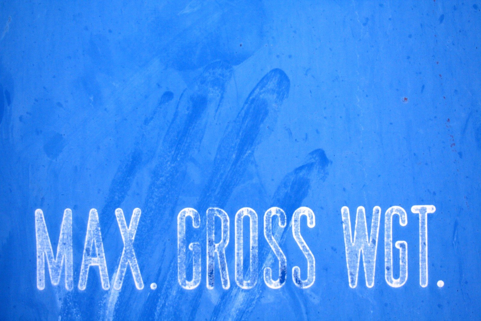 Max gross weight