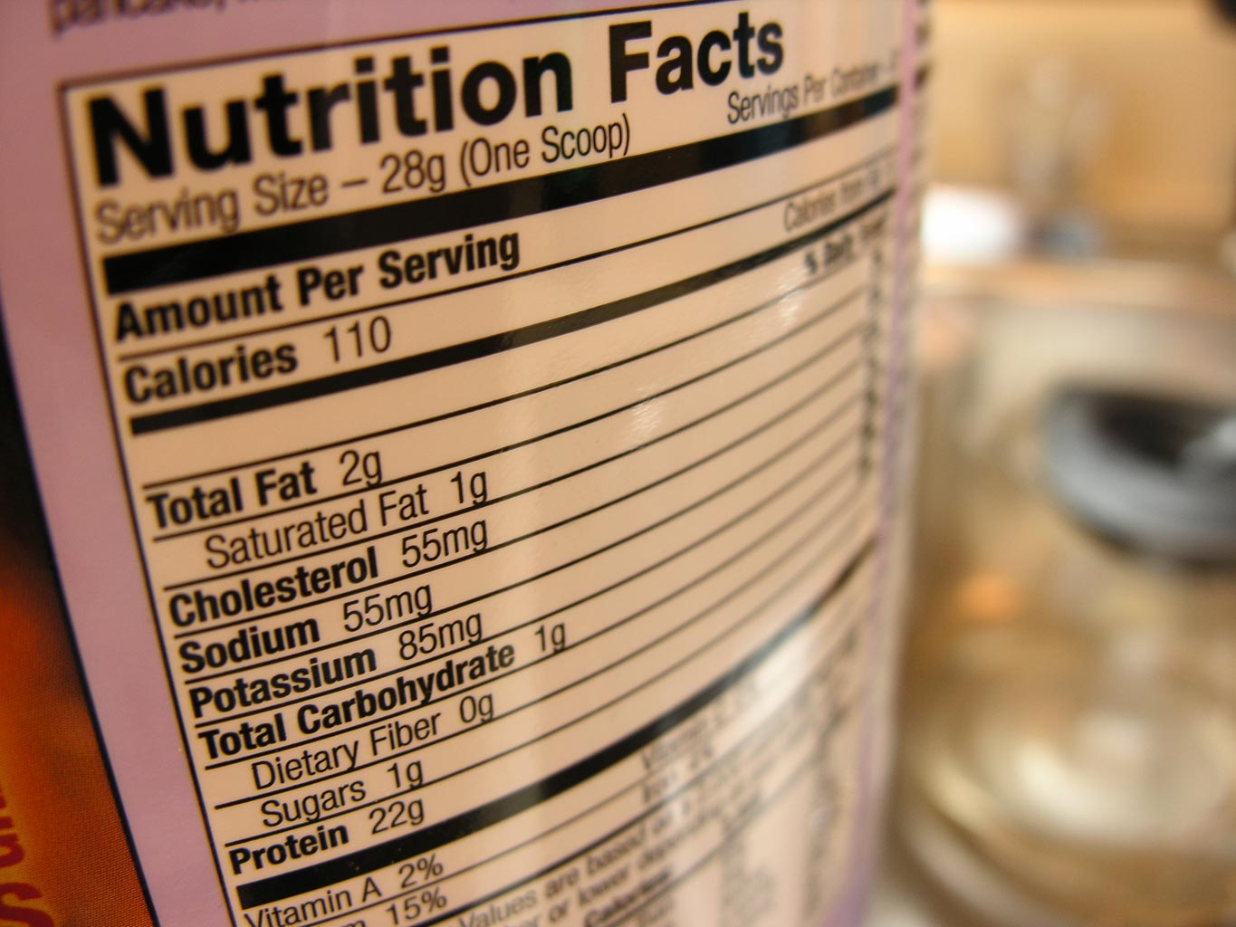 Some nutrition facts