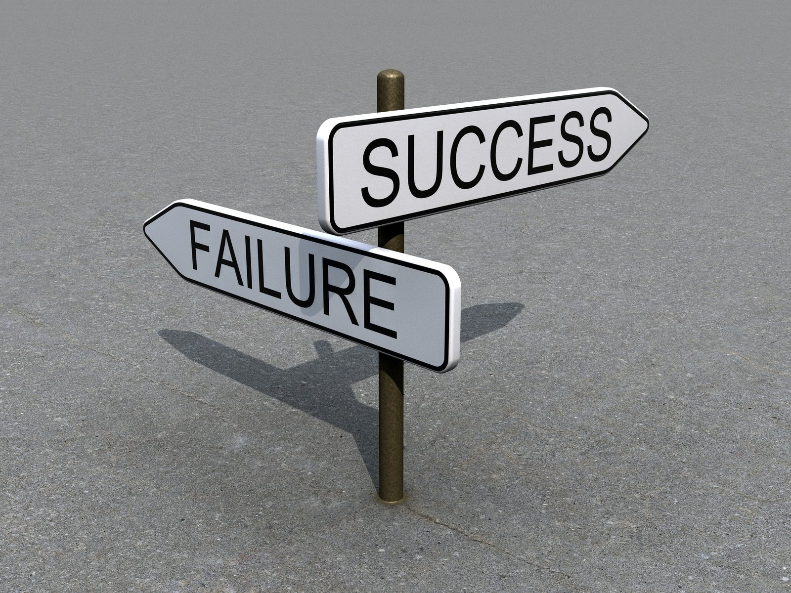 Sign of success and failure