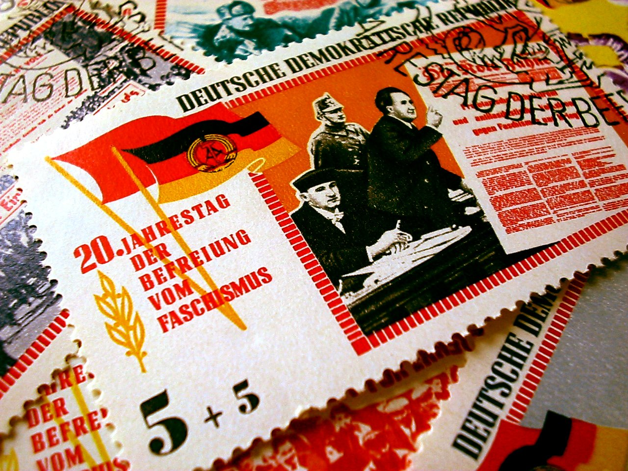Deutschland stamps