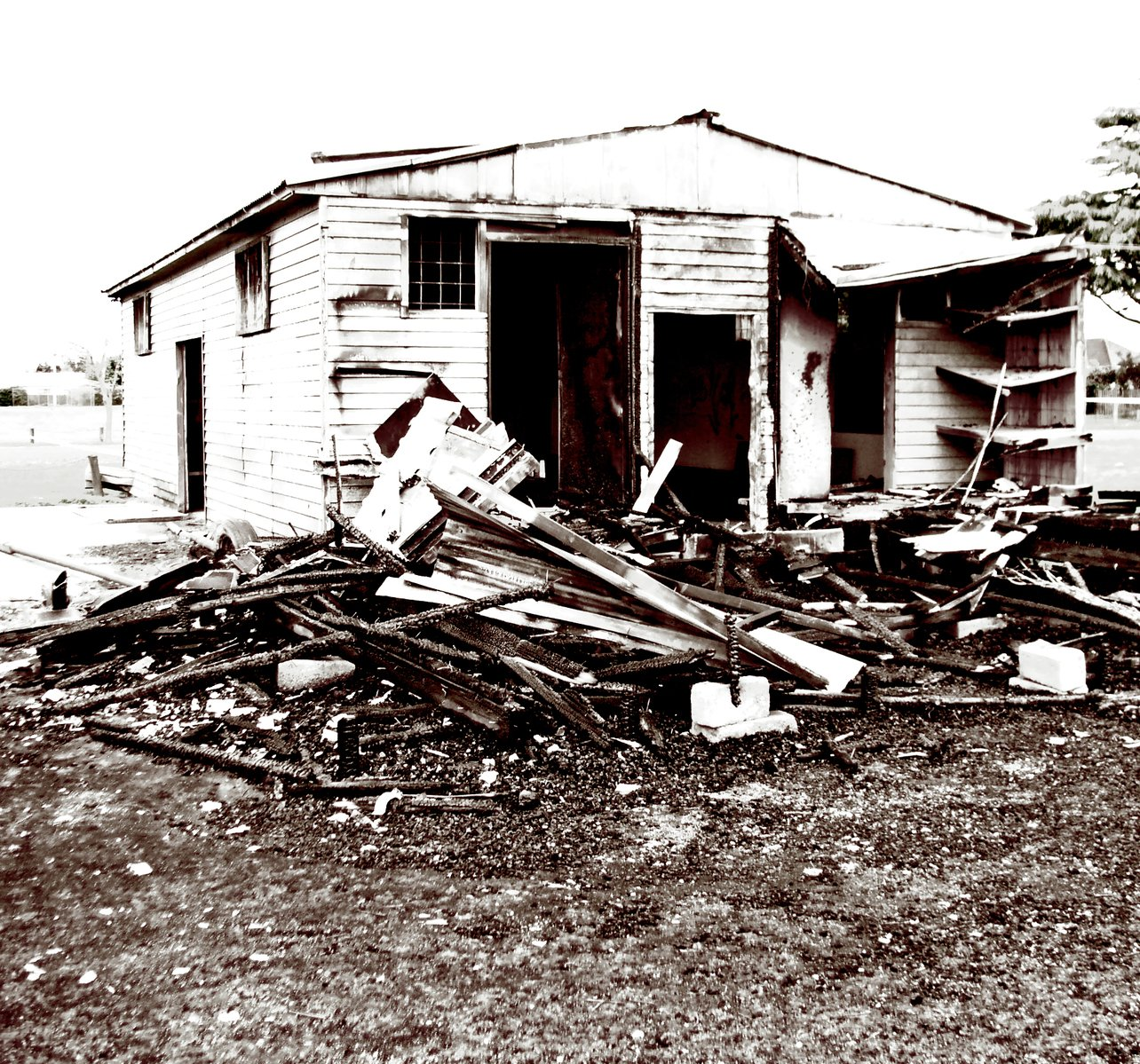 House destruction