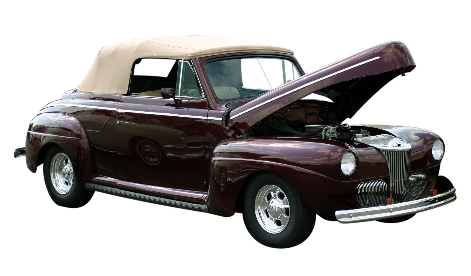 Classic Car - Convertible