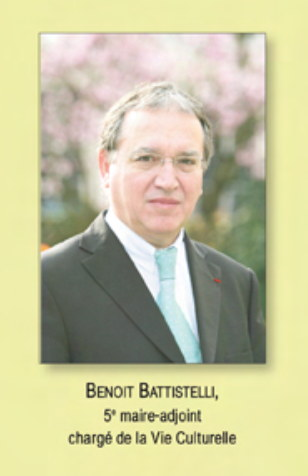 Battistelli as DEPUTY MAYOR 2008