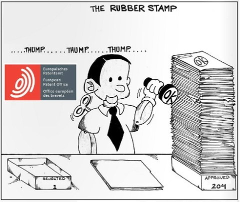 EPO Rubber Stamp