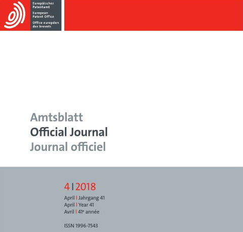 Official Journal April 2018