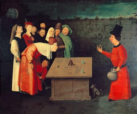 Bosch the conjurer