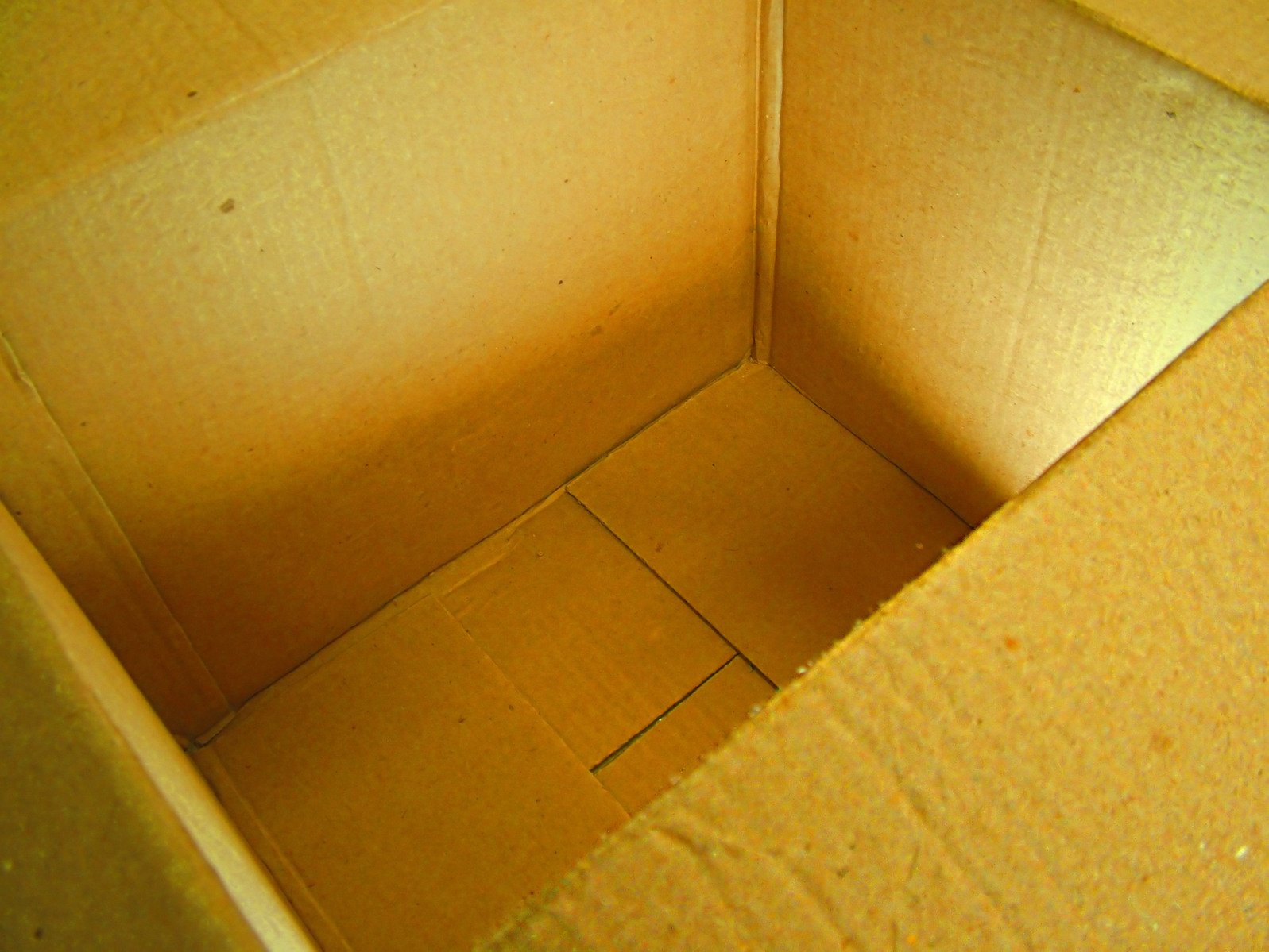 An open box